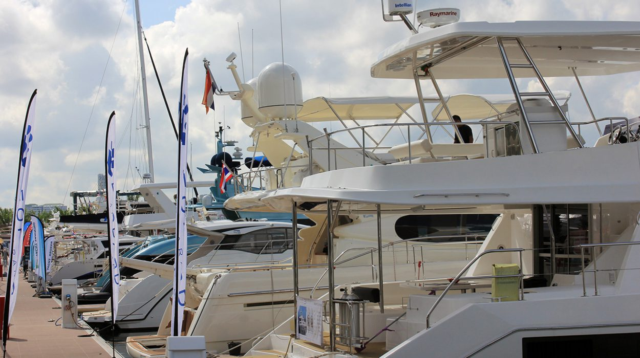 Ocean Marina Pattaya Boat Show 2016 welcomes a record line-up of boats.