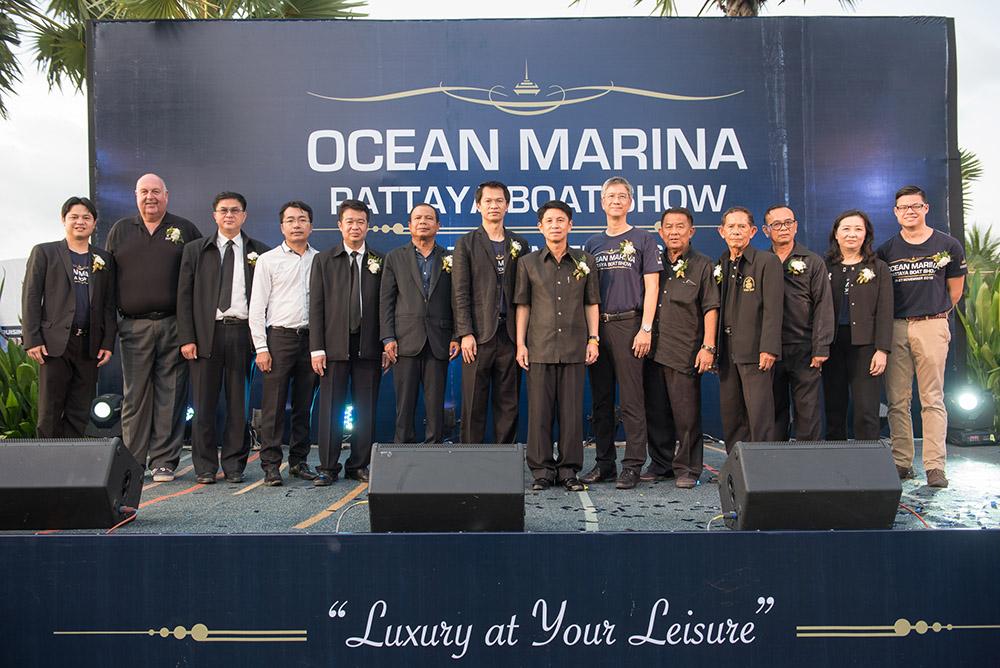 Ocean Marina Pattaya Boat Show 2016 - Opening Ceremony